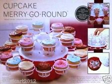 Cupcake Stand Merry Go Round Kitchen Baking Party Serving Dish 24 Treats