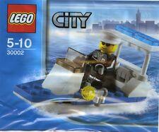 LEGO CITY POLICE BOAT IN BAG, 30002, NIB