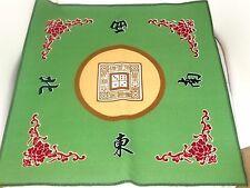 Mahjong Mat Paigow Card Game Table Cover Mah jongg Mahjongg Green