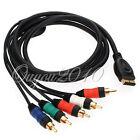 2M HD Component RGB AV Audio Video Cable HDTV Lead Fr Sony Playstation 3 PS3 PS2
