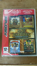 Age of Empires Collector's Edition (PC, 2006) Xplosiv PC CDRom