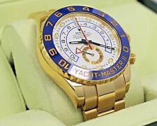 Rolex Yacht Master II 116688 New Style 18K Yellow Gold Watch Box/papers *MINT*