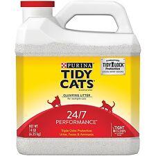Purina Tidy Cats 24/7 Performance Cat Litter 14 lb. Jug