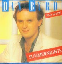 """7"""" Dan Byrd With Sofie/Summernights (D)"""