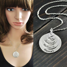 Personalized name necklace,alloy,custom any name Mothers necklace Valentine gift