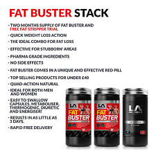 LA MUSCLE TWO MONTHS FAT BUSTER DEAL RRP £59.98