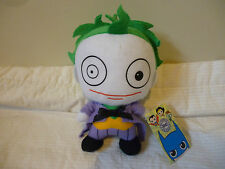 DC COMICS ORIGINALS- THE JOKER - PLUSH SOFT TOY HARD TO FIND! BRAND NEW WITH TAG