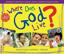 Where Does God Live?-ExLibrary