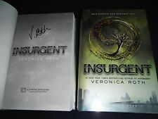 ***SIGNED 1st Printing/1st Ed*** Insurgent Veronica Roth (Divergent) COA