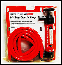 Siphon Pump Kit Brand New in package Gas, oil, or water Molded Handle 2 Hoses