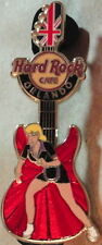 Hard Rock Cafe ORLANDO 2012 GIRLS of GAMES Series PIN Olympic Guitar LONDON HRC