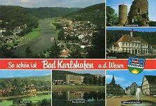 Alte Postkarte - So schön ist Bad Karlshafen a.d. Weser
