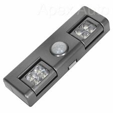 Battery Powered Bright 8 Led Wireless PIR Motion Sensor Security Garage Light