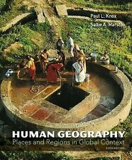 Human Geography Places And Regions In Global Context 6th Int'l Edition