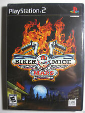 New Biker Mice from Mars PS2 Video Game Sony PlayStation 2 ~ Great Game & Price