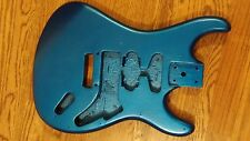 Kramer Striker Strat Style Guitar Body - in metallic lake placid blue...Look !!