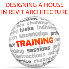 Diseño de una casa en Revit Architecture-Video Tutorial DVD de entrenamiento