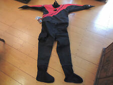 DUI CLX 450 QZ SIGNATURE SERIES XXL MENS DRY SUIT -THINSULATE BOOTS INCLUDED