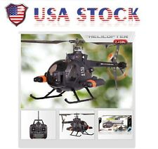 FX070C 2.4G 4CH 6-Axis Gyro Flybarless MD500 Scale RC Helicopter USA Stock Fast