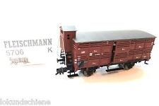 DR Güterwagen mit Bh. . Fleischmann HO 5706 K  OVP#4596