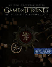 Game of Thrones: The Complete Second Season (Blu-ray Disc, 2015, 5-Disc Set)