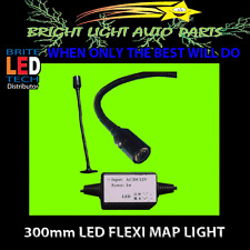 12V 300MM FLEXI MAP READING LIGHT FOR 4WD CARAVAN CAR WITH SWITCH