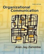 Organizational Communication, Zaremba, Alan Jay, New Book