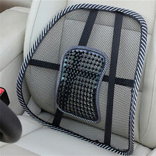 Massage Vent Mesh Lumbar Lower Back Brace Support Car Seat Chair Cushion Pad