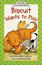 Biscuit Wants to Play by Alyssa Satin Capucilli (2002, Paperback)