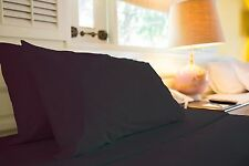 1500 TC LUXURIOUS EGYPTIAN COTTON QUALITY SHEET SET KING SIZE BLACK