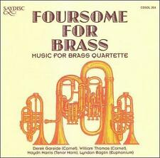 Foursome for Brass, New Music