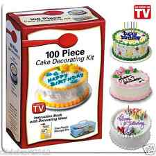 100 Piece Cake Decorating Kit With Storage Box