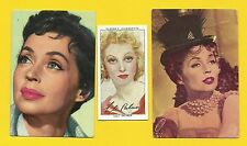 Lilli Palmer Fab Card Collection German Actress Author Change Lobsters and Dance