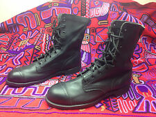 USA STEELTOE1998 ENGINEER MOTORCYCLE ROAD BOSS MILITARY DRILL BOOTS 10.5 M