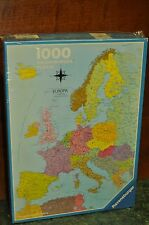 Rare Ravensburger EUROPA Map 1000 Jigsaw Puzzle Europe Sealed