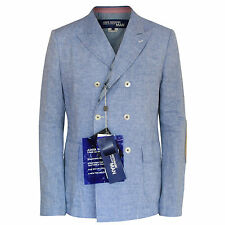 JUNYA WATANABE Comme des Garcons $2100 double breasted linen blazer jacket L NEW