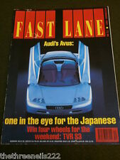 FAST LANE - 911 RS CARRERA - AUDI AVUS - DEC 1991