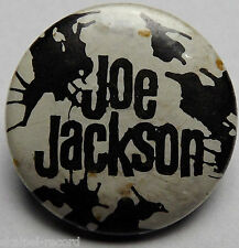 JOE JACKSON Vintage 70`s/80`s 25mm Button Pin Badge JJ102