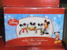 New in Box Department 56 -   Mickey's Three Mouseketeers Figure