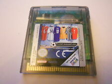 Player manager 2001 football NINTENDO GAMEBOY COLOR/ADVANCE/SP GBC game