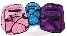 "Trio of Backpacks with Sequins for 18"" American Girl Doll Clothes Accessories"