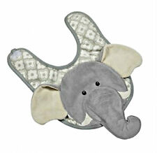 Maison Chic Bib NEW Baby Girl Boy Emerson Elephant Gift Cute Cotton Safari