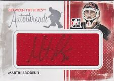 Martin Brodeur 09/10 ITG Between The Pipes Autothreads /9
