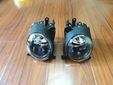 1Pair Clear Fog Lights Lamps w/Bulbs For Mitsubishi Lancer CJ 2007.9-12