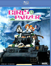 Girls Und Panzer: TV Collection [Blu-ray] by Caitlynn French, Jessica Calvello,