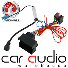 PC2-85-4 Vauxhall Opel Astra H Vectra C Corsa C Car Stereo ISO Harness & Aerial