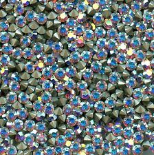 1028 PP32 C *** 30 strass Swarovski FOND CONIQUE 4mm CRYSTAL AB F