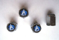 Star Trek Tire Valve Stem Caps, Star Trek Logo Tire Caps, Star Trek Enterprise