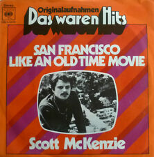 "7"" 60s ! SCOTT MCKENZIE San Francisco + Like An Old Time Movie"