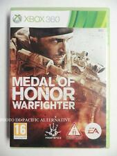 jeu MEDAL OF HONOR WARFIGHTER sur xbox 360 en francais game spiel juego TBE